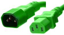 iec colored power cords
